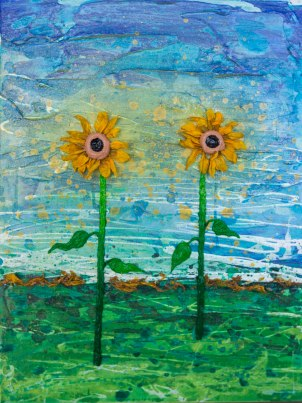 Two Sunflowers 2