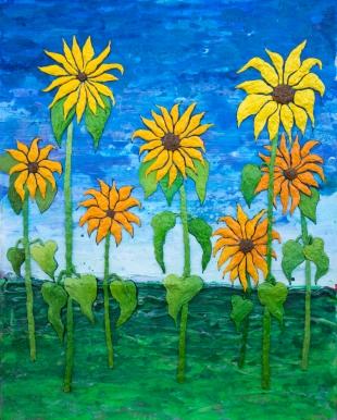 Bronze Sunflowers
