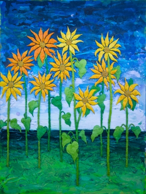 Gold Sunflowers