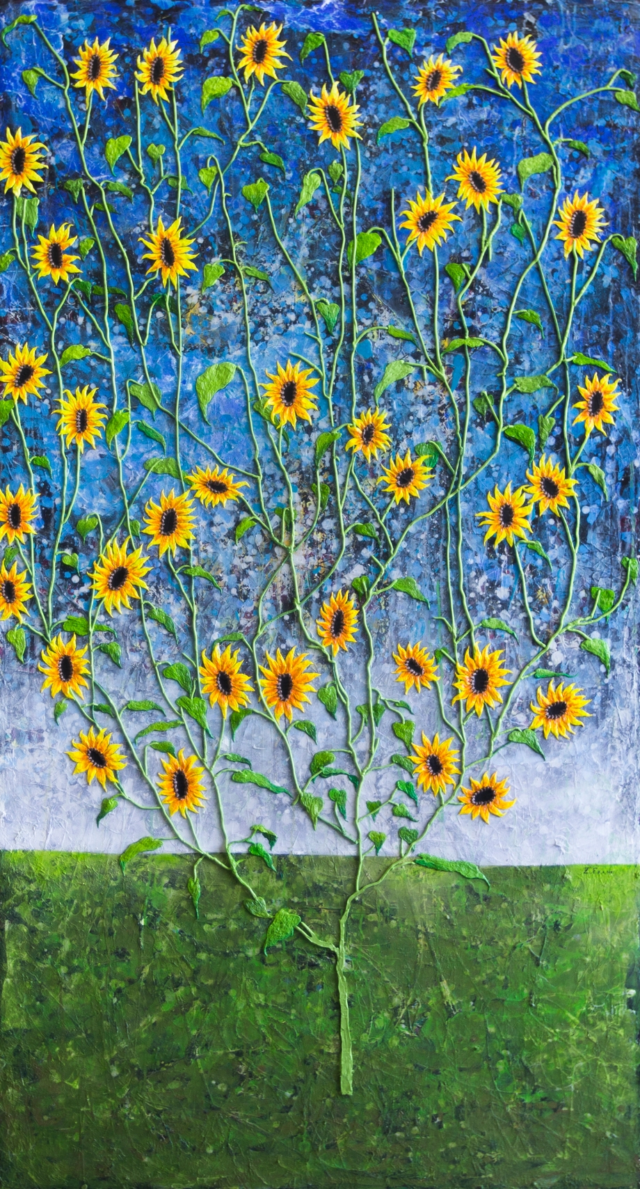 The Magnificent Sunflower Bush