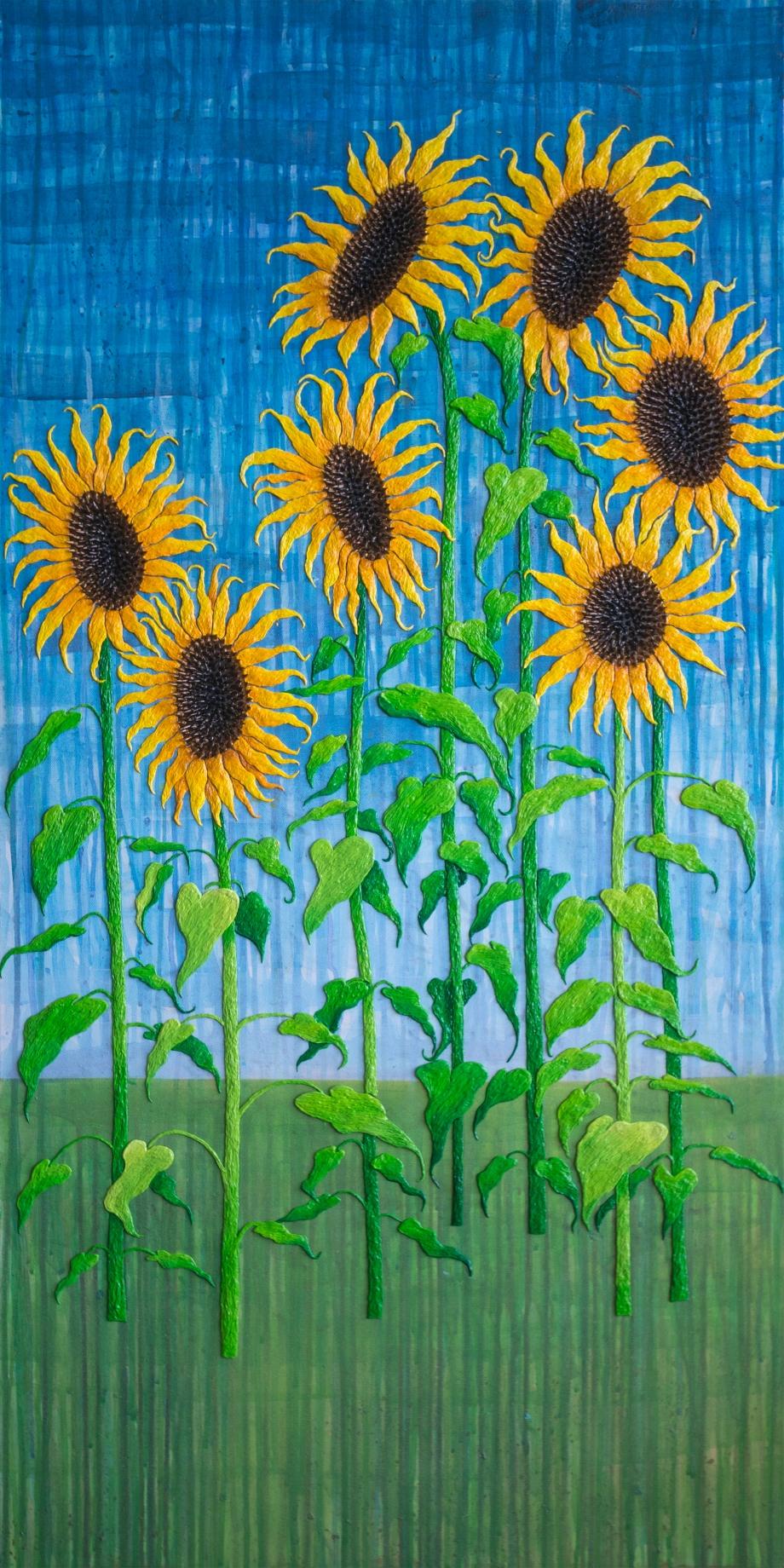 7 Lucky Sunflowers (All Grown Up)
